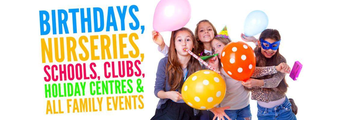 Kent Kids Parties - Children's birthday parties tunbridge wells